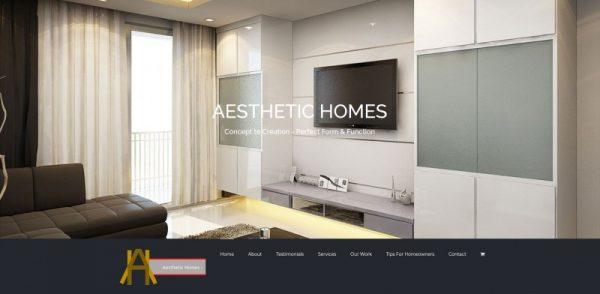 Aesthetic Homes Theo De Roza Direct Response Copywriter Singapore