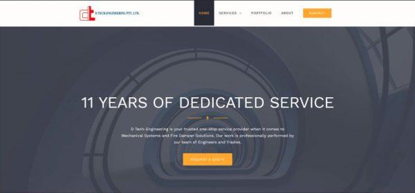 D Tech Engineering website Theo De Roza
